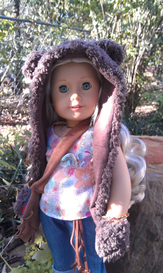 Our FDC Entrant #39 is selling spirit hoods for dolls!
