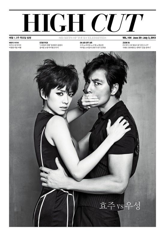 Han Hyo Joo, Jung Woo Sung for High Cut