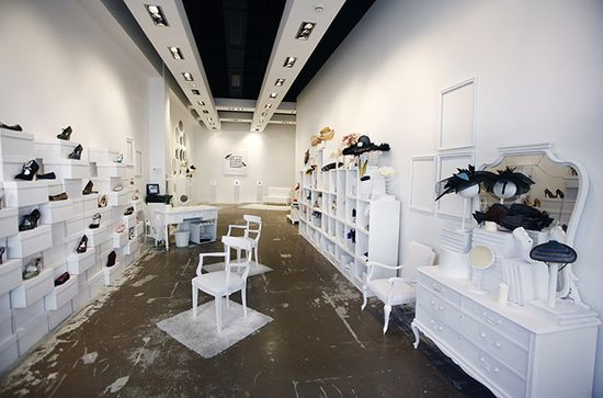 Head Over Heels Pop up stores by U LA LA Events, Madrid, Barcelona