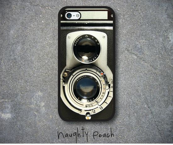 iPhone 5 Case iPhone 5S Case  Black Vintage Camera / by ARTICECASE, $19.99