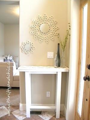 DIY Furniture : Custom Built Entry Table