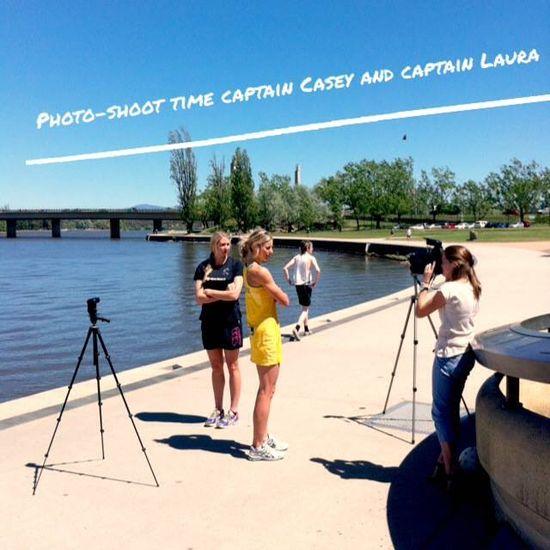 Captains Photo Shoot #SilverFernsNation #SilverFerns
