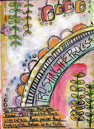 Love the colors! Creative Therapy by Harmony on Flickr
