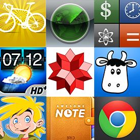 The 100 Best iPhone Apps--great list, especially for rookies like myself:)