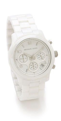 Michael Kors ceramic watch