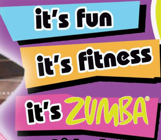 zumba, It's what's on today's workout menu!