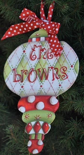 Christmas Ornaments  www.preppyandpink...