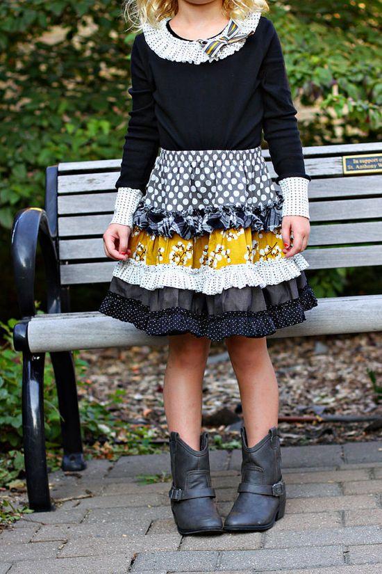 Cute girls skirt