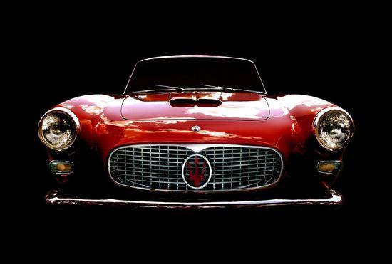 Vintage Classic 1963 Maserati photo via Etsy.