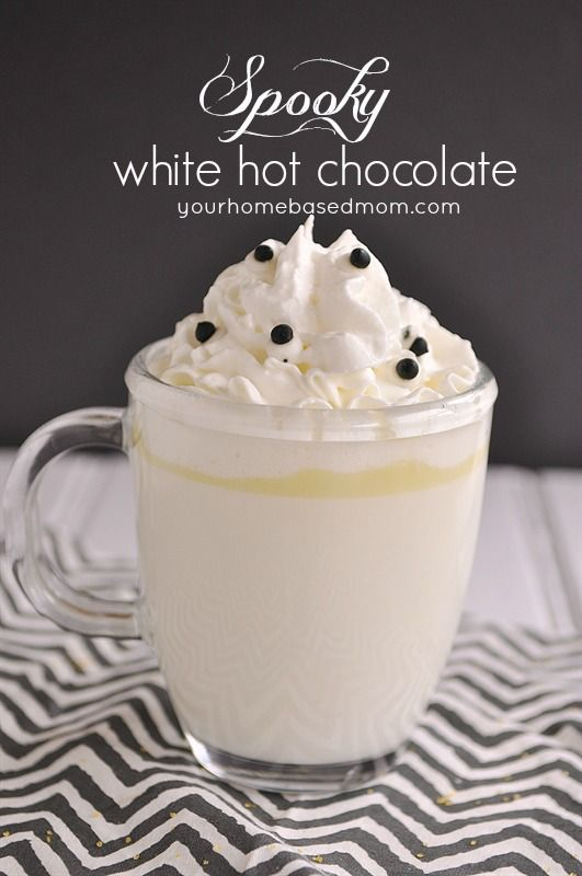 Spooky Halloween Hot Chocolate