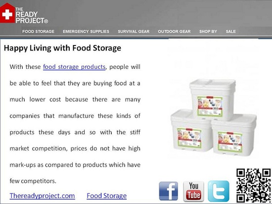 #Great food storage products