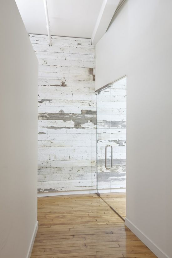 :: INTERIORS :: adore the re-use of materials, recycled white washed timber