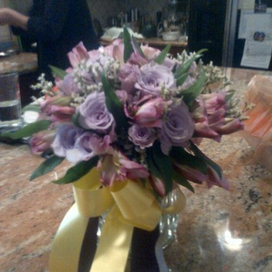 Vintage flower arrangement