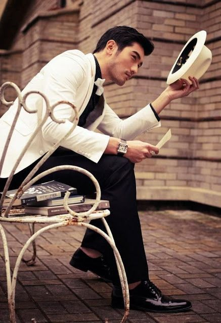Men's fashion and style photo