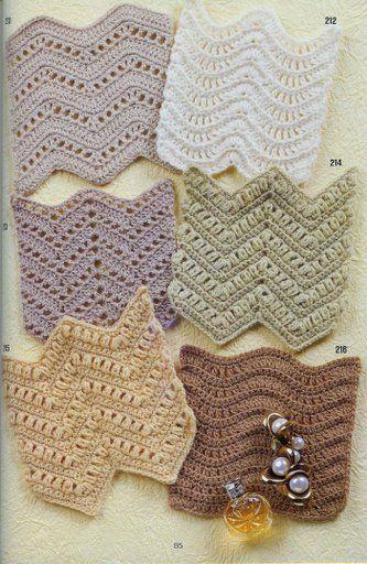 Amazing set of stitches....hundreds of stitch patterns with charts.