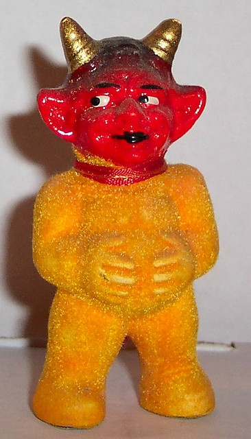 Vintage Halloween Devil