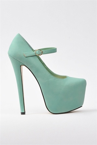 Mint Mary Janes