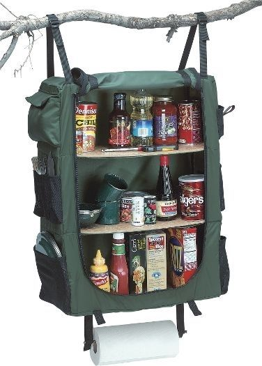 Cabelas hanging cabinet for camping
