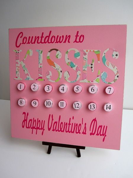 super cute... valentine's day countdown!