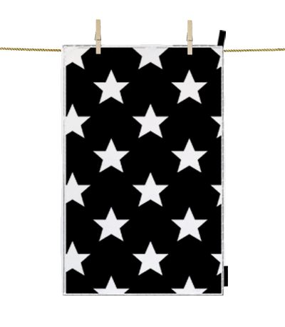 Kitchen Towel Star White dettagli home design