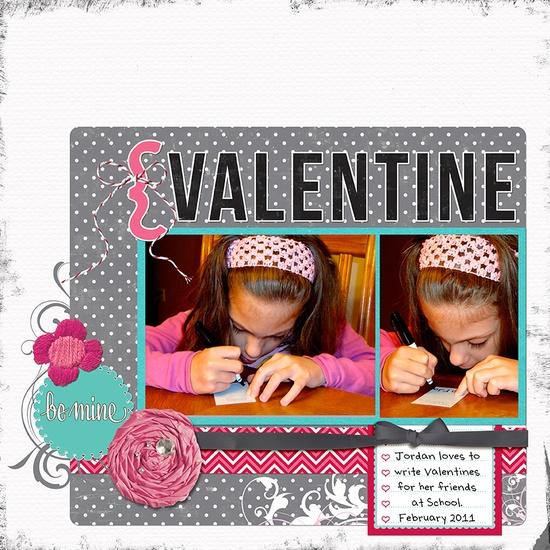 Valentine (Elle's Studio/Jessica Sprague) - Scrapbook.com