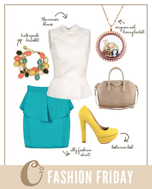 The Origami Owl vintage inspired look!