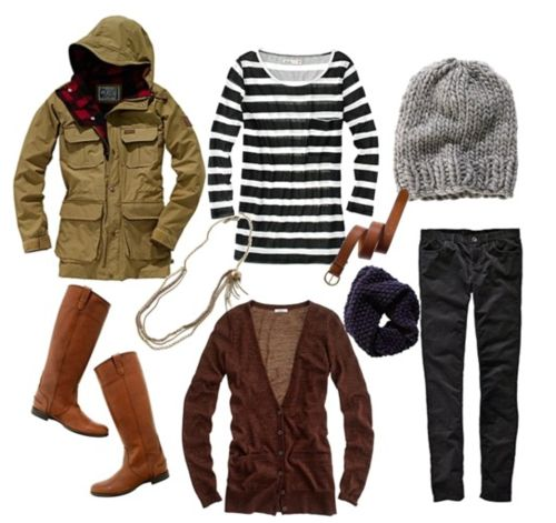 Lovely outfit for fall/winter.