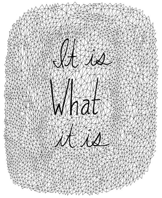 Typography #quote Print
