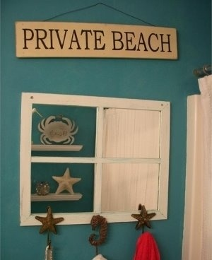 Beach Bathroom Decorating Ideas Picture