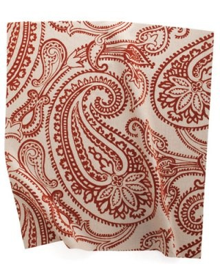 Paisley Flock linen by Groundworks