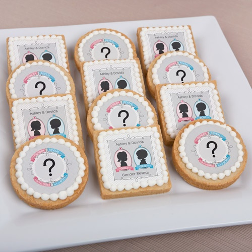 Gender Reveal - Personalized Party Cookies