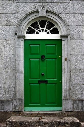 Emerald Green Door