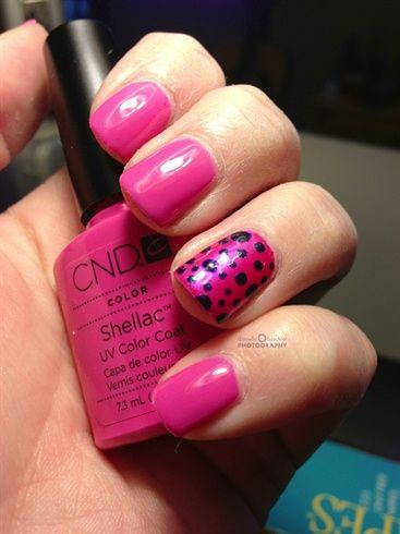 Shellac by Danyell48 - Nail Art Gallery nailartgallery.na... by Nails Magazine www.nailsmag.com #nailart