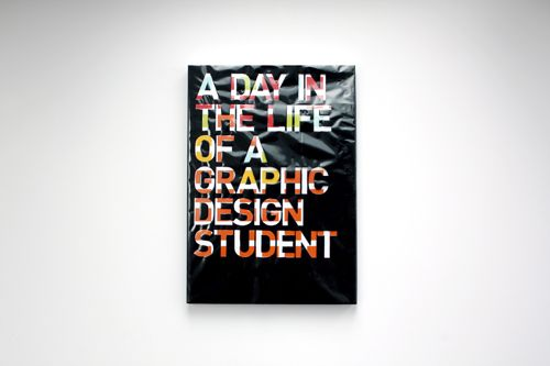 A Day in the Life of a Graphic Design Student by Rishi Sodha, via Behance