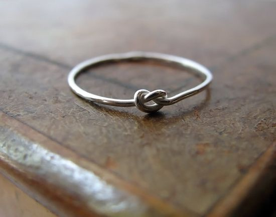 knot ring. love.
