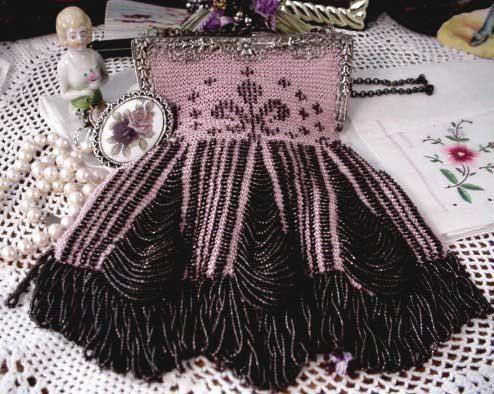 Juliet Beaded Bag Purse Pattern. $9.00, via Etsy.