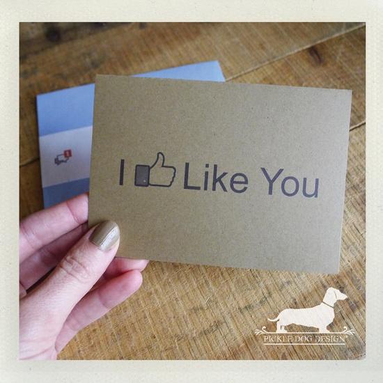 FB like card!