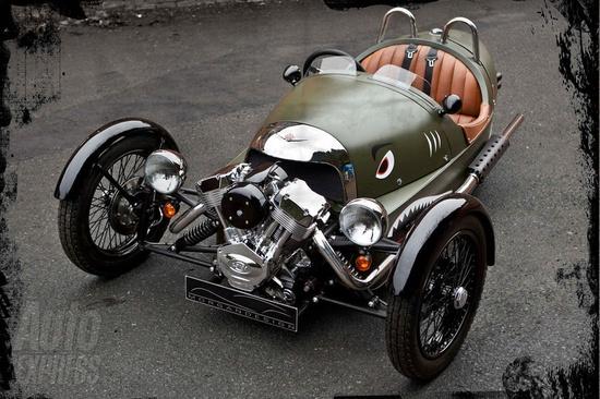 Morgan 3-wheeler.