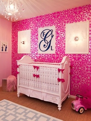 Baby Girl Nurseries - Nursery Ideas - Slideshow - Click image to find more Kids Pinterest pins