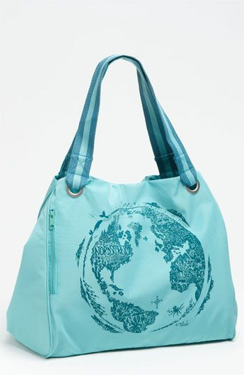 Eco-friendly, recycled Nordstrom shopping tote.