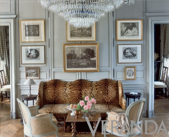 Interior design by Charles Spada. Photograph by Alexandre Bailhache.
