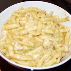 Comfort Food - Crockpot Chicken and Noodles