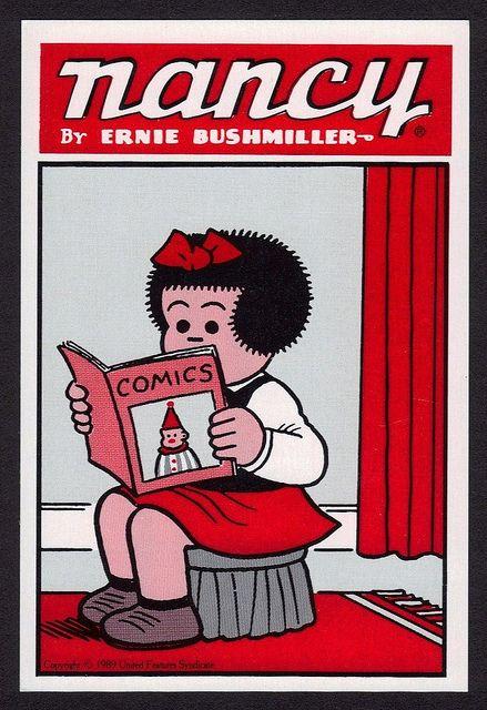 I remember the cartoons, but not the comics.