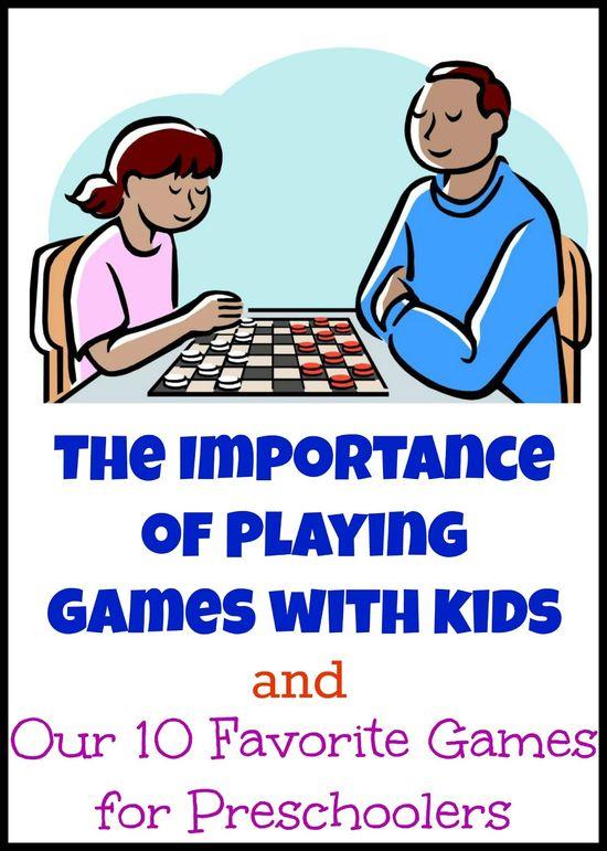 10 favorite games for preschoolers
