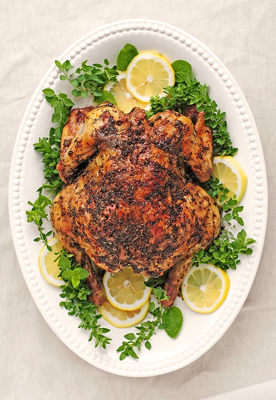 Greek Roasted Chicken - from @Amy Lyons Johnson / She Wears Many Hats