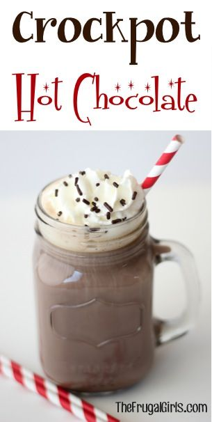 Crockpot Hot Chocolate Recipe! ....with whole milk!