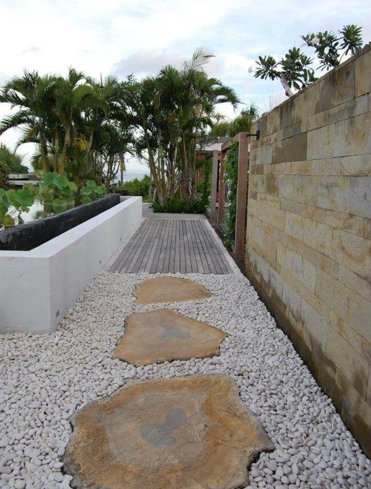 Modern garden design idea