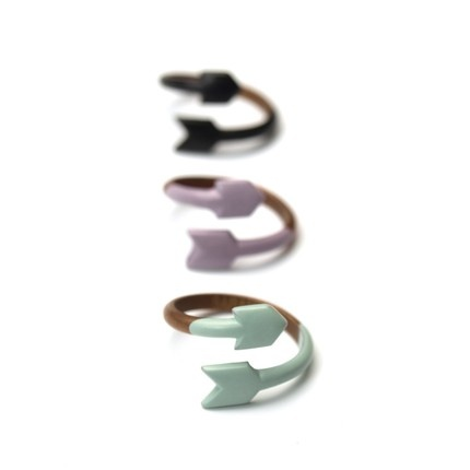 Awesome arrow rings