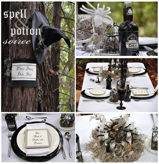 delightful finds & me blog, halloween wedding ideas