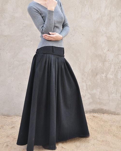 long long long skirt
